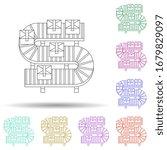 colored conveyor multi color...