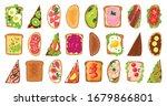 bread toast vector illustration ...   Shutterstock .eps vector #1679866801
