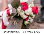 Wedding Bouquet Of Young And...