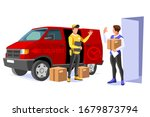 symbolic commercial home... | Shutterstock .eps vector #1679873794