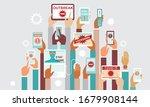 covid 19  2019 ncov concept....   Shutterstock .eps vector #1679908144