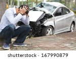 Upset Driver After Traffic...