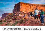 Monument Valley  Az   Usa  ...