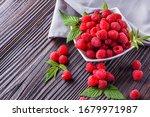 Juicy Fresh Natural Raspberries ...