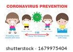 prevention tips infographic of... | Shutterstock .eps vector #1679975404