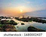Sunrise Over The Sea At...