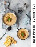 Champignon Cream Soup With...