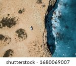 An Aerial Drone Image Of A...