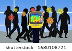 illustration vector graphic of... | Shutterstock .eps vector #1680108721