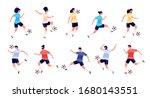 football players. soccer...   Shutterstock .eps vector #1680143551