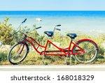 red tandem | Shutterstock . vector #168018329