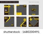 culinary sale set social media... | Shutterstock .eps vector #1680200491