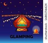 Glamping Or Camping With A Ten...