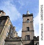 old stone blocks building in... | Shutterstock . vector #168028931