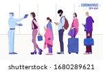 illustration of coronavirus... | Shutterstock .eps vector #1680289621