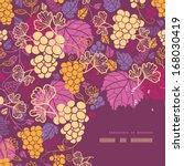 sweet grape vines corner frame... | Shutterstock .eps vector #168030419