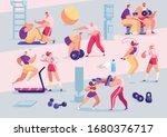 sport people individual... | Shutterstock .eps vector #1680376717