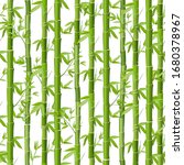 Bamboo Vector Seamless Pattern. ...