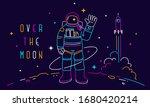 vector creative neon... | Shutterstock .eps vector #1680420214