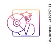 music disk nolan icon. simple...