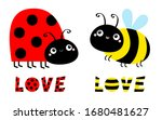 Lady Bug Ladybird Bee Bumblebe...