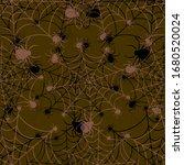 abstract seamless halloween...   Shutterstock .eps vector #1680520024