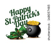 17th,boots,card,cauldron,celebrating,celtic,cheerful,clothes,clover,copy,culture,date,day,festive,flag