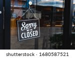 """sorry We're Closed"" Message..."