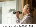 White Female Nosey Neighbour...