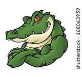 alligator,angry,animal,art,cartoon,character,comic,croc,crocodile,design,face,gator,green,head,high