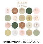 collection of abstract various... | Shutterstock .eps vector #1680647077