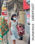 kolkata  india  03 22 2020  a... | Shutterstock . vector #1680691657