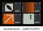 new modernism aesthetics in... | Shutterstock .eps vector #1680742954