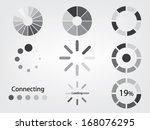loading icon | Shutterstock .eps vector #168076295