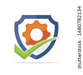 illustrated icon with the right ...   Shutterstock .eps vector #1680782134