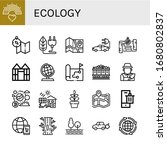 set of ecology icons. such as... | Shutterstock .eps vector #1680802837
