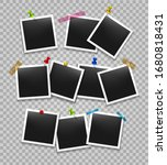 office photo frames organize.... | Shutterstock .eps vector #1680818431