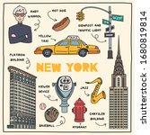 new york  united states of...   Shutterstock .eps vector #1680819814