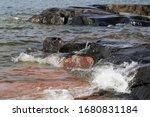 Waves Hitting Rocks In Helsinki ...