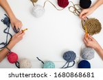 Children Hands Are Crocheted...