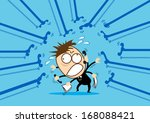 first priority to working... | Shutterstock .eps vector #168088421