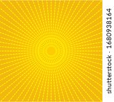 abstract light yellow sun...   Shutterstock .eps vector #1680938164