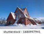 Kiruna Church In The Shape Of ...