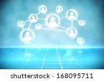 futuristic technology interface | Shutterstock . vector #168095711