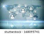 futuristic technology interface | Shutterstock . vector #168095741