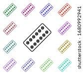 tile medicine line multi color...