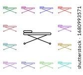 medical trolley line multi...