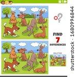 cartoon illustration of finding ... | Shutterstock .eps vector #1680996844