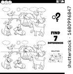 black and white cartoon... | Shutterstock .eps vector #1680996847