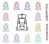 travel bag line multi color...
